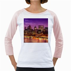 City Night Girly Raglans