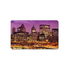 City Night Magnet (name Card)