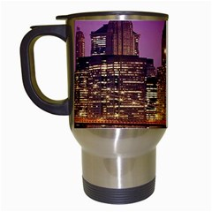 City Night Travel Mugs (white)