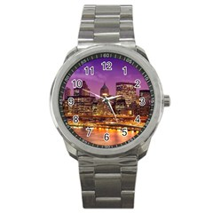 City Night Sport Metal Watch