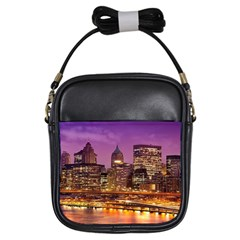 City Night Girls Sling Bags
