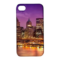 City Night Apple Iphone 4/4s Hardshell Case With Stand