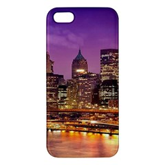 City Night Iphone 5s/ Se Premium Hardshell Case