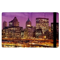 City Night Apple Ipad Pro 12 9   Flip Case