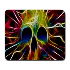 Skulls Multicolor Fractalius Colors Colorful Large Mousepads