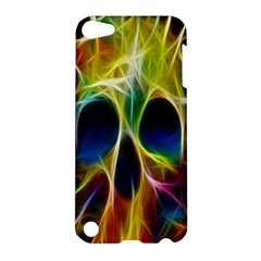Skulls Multicolor Fractalius Colors Colorful Apple Ipod Touch 5 Hardshell Case