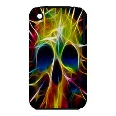 Skulls Multicolor Fractalius Colors Colorful Iphone 3s/3gs