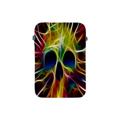 Skulls Multicolor Fractalius Colors Colorful Apple Ipad Mini Protective Soft Cases