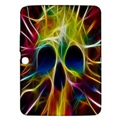 Skulls Multicolor Fractalius Colors Colorful Samsung Galaxy Tab 3 (10 1 ) P5200 Hardshell Case