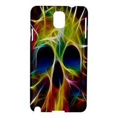Skulls Multicolor Fractalius Colors Colorful Samsung Galaxy Note 3 N9005 Hardshell Case