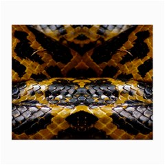Textures Snake Skin Patterns Small Glasses Cloth (2 Side)