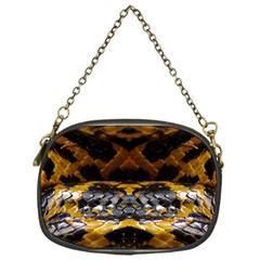 Textures Snake Skin Patterns Chain Purses (one Side)
