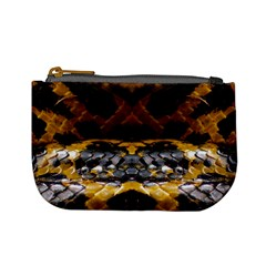 Textures Snake Skin Patterns Mini Coin Purses