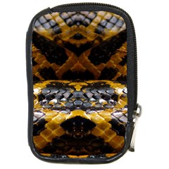 Textures Snake Skin Patterns Compact Camera Cases