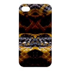 Textures Snake Skin Patterns Apple Iphone 4/4s Hardshell Case