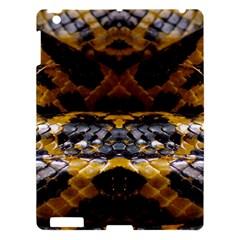 Textures Snake Skin Patterns Apple Ipad 3/4 Hardshell Case