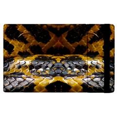 Textures Snake Skin Patterns Apple Ipad 3/4 Flip Case