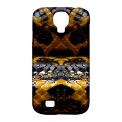 Textures Snake Skin Patterns Samsung Galaxy S4 Classic Hardshell Case (pc+silicone)