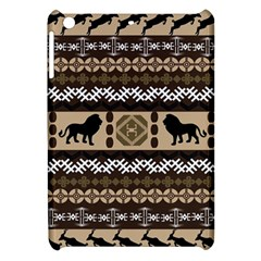 Lion African Vector Pattern Apple Ipad Mini Hardshell Case