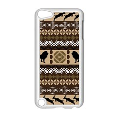 Lion African Vector Pattern Apple Ipod Touch 5 Case (white)