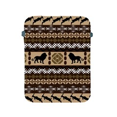 Lion African Vector Pattern Apple Ipad 2/3/4 Protective Soft Cases