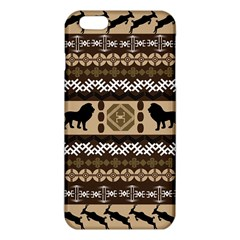 Lion African Vector Pattern Iphone 6 Plus/6s Plus Tpu Case