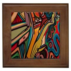 Vivid Colours Framed Tiles