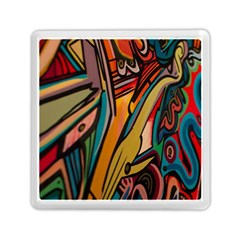Vivid Colours Memory Card Reader (square)