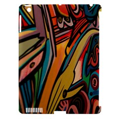 Vivid Colours Apple Ipad 3/4 Hardshell Case (compatible With Smart Cover)