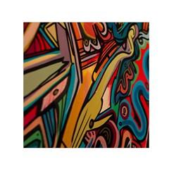 Vivid Colours Small Satin Scarf (square)