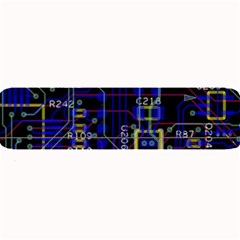 Technology Circuit Board Layout Large Bar Mats