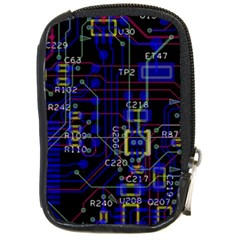 Technology Circuit Board Layout Compact Camera Cases