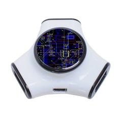 Technology Circuit Board Layout 3 Port Usb Hub