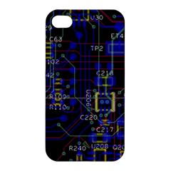 Technology Circuit Board Layout Apple Iphone 4/4s Hardshell Case