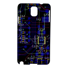Technology Circuit Board Layout Samsung Galaxy Note 3 N9005 Hardshell Case