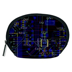 Technology Circuit Board Layout Accessory Pouches (medium)