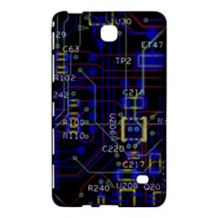 Technology Circuit Board Layout Samsung Galaxy Tab 4 (7 ) Hardshell Case
