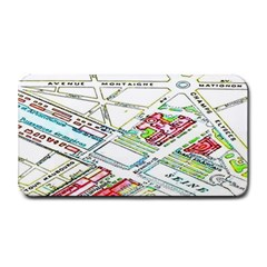 Paris Map Medium Bar Mats