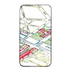 Paris Map Apple Iphone 4/4s Seamless Case (black)