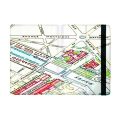 Paris Map Apple Ipad Mini Flip Case