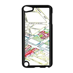 Paris Map Apple Ipod Touch 5 Case (black)