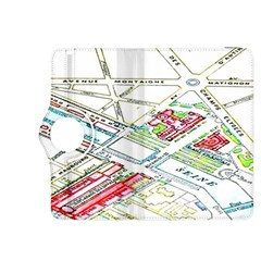 Paris Map Kindle Fire Hdx 8 9  Flip 360 Case