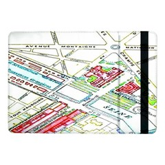 Paris Map Samsung Galaxy Tab Pro 10 1  Flip Case