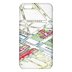 Paris Map Iphone 6 Plus/6s Plus Tpu Case