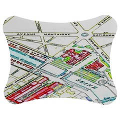 Paris Map Jigsaw Puzzle Photo Stand (bow)