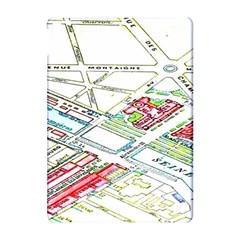 Paris Map Apple Ipad Pro 10 5   Hardshell Case