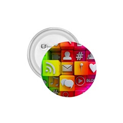 Colorful 3d Social Media 1 75  Buttons