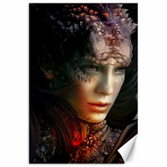 Digital Fantasy Girl Art Canvas 20  X 30