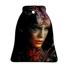 Digital Fantasy Girl Art Ornament (bell)
