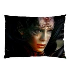Digital Fantasy Girl Art Pillow Case (two Sides)